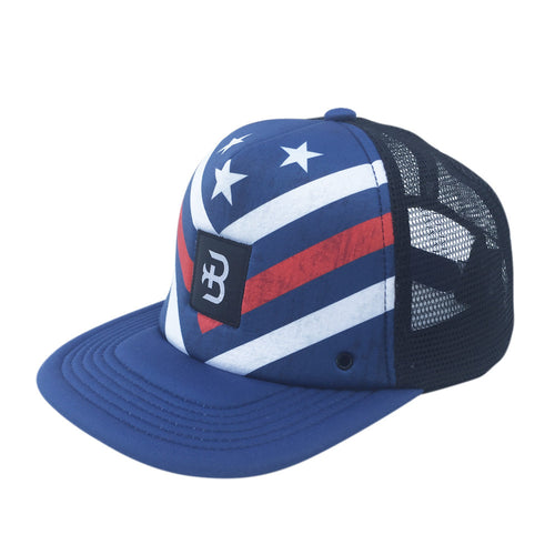 Patriotic surf hat for men
