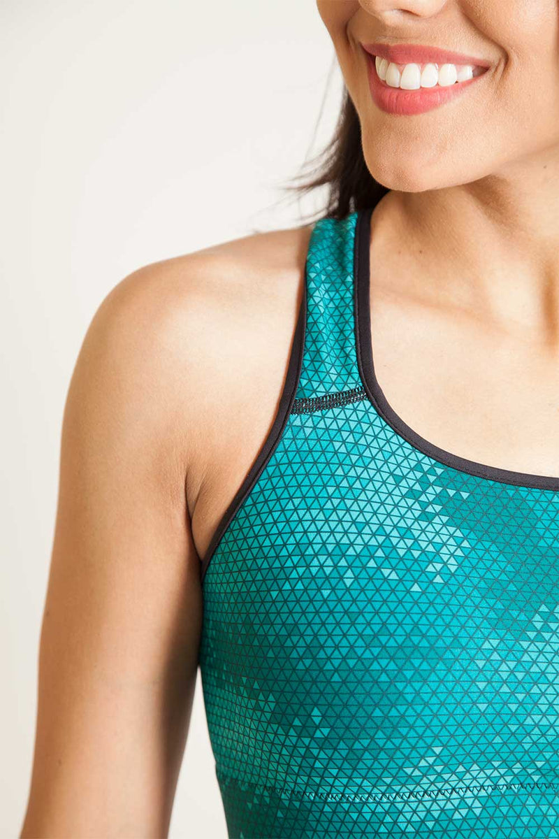 Sport Bra Pinnacle Kelp