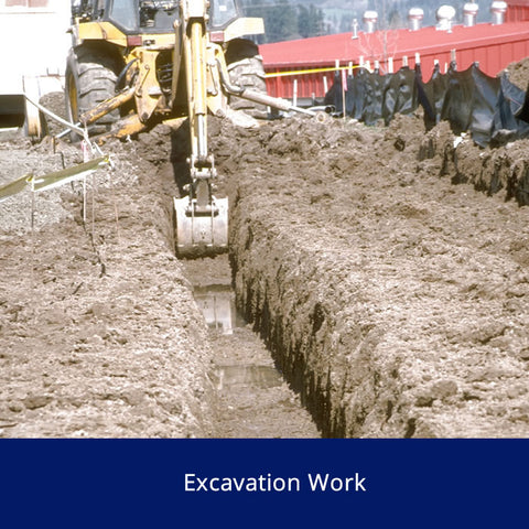 Excavation Work Safety Talk