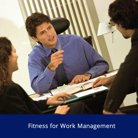 Fitness for Work (Management) Safety Talk