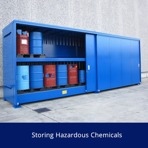 Storing Hazardous Chemicals Safety Talk