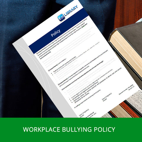 Workplace Bullying Policy