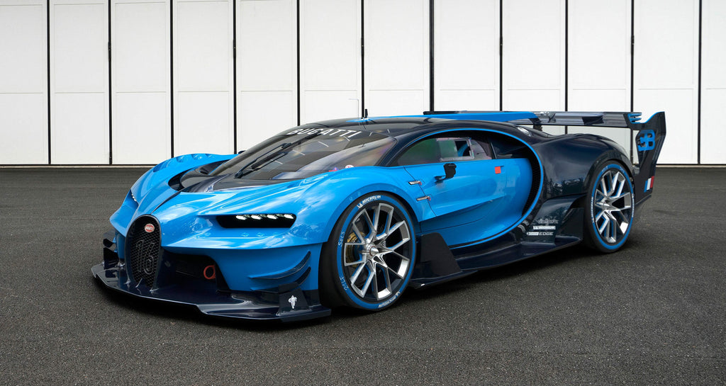 """This Is For The Fans"" Bugatti Unveils Its Vision Gran Turismo Show Car"