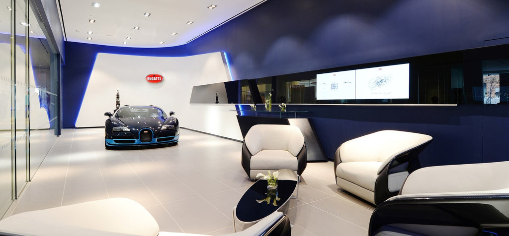 Bugatti Opens Showrooms in Manhattan and Miami with New Brand Design