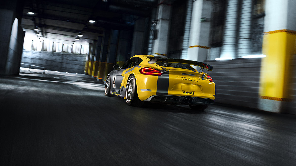 Cayman GT4 Clubsport - back-end
