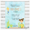 Ava's Mermaids Invitation