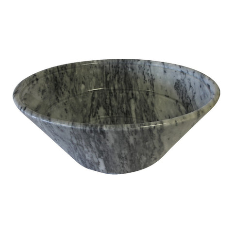 Cashmere Gray Angled Marble Sink - Marble Products International