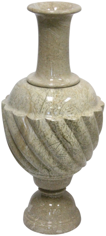 Coral Fossil Small Floor Vase - Marble Products International