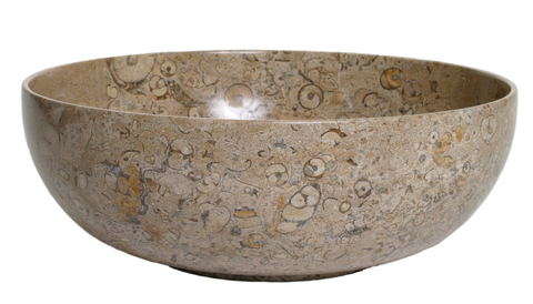 Fossil Stone Fruit Bowl - Marble Products International