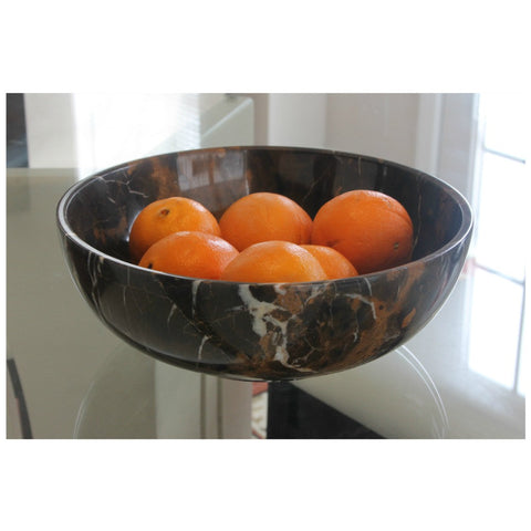 King Gold Fruit Bowl - Marble Products International