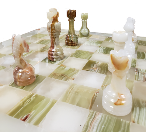 Chess Set- Onyx Chess with Personalization