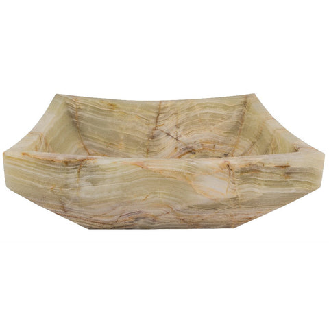 Multi Onyx Rectangle Marble Sink - Marble Products International