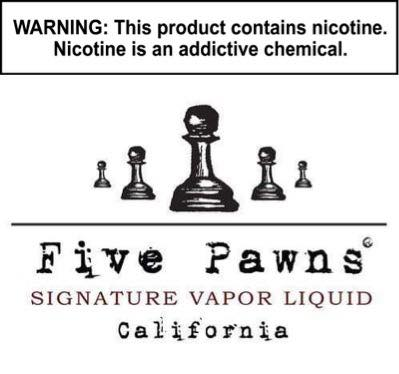 Five Pawns Signature Tobacco Liquid 60ML