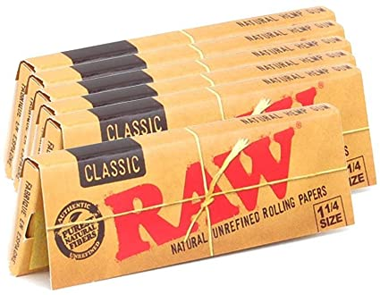 "Raw Classic Rolling Papers - 1 1/4"" [1PK]"