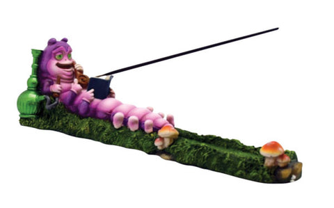 Caterpillar Incense Burner - 10""