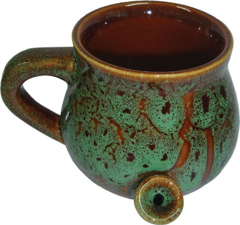 Ceramic Speckled Glaze Mug Pipe