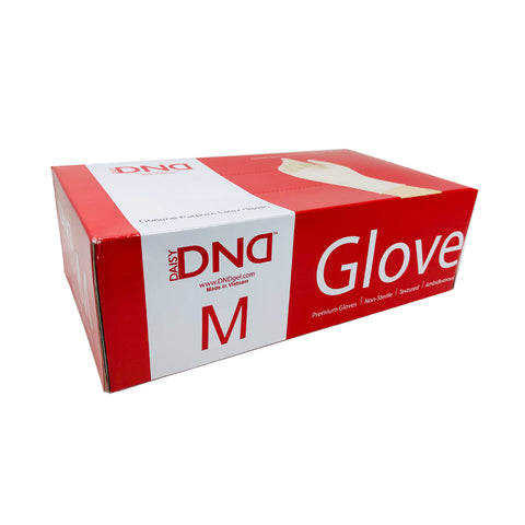 Powder Free Disposable Latex Gloves 100pc Box