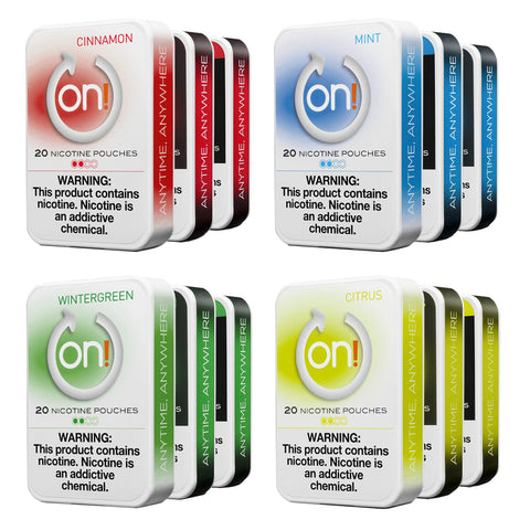 ON! Nicotine Pouches [20CT]