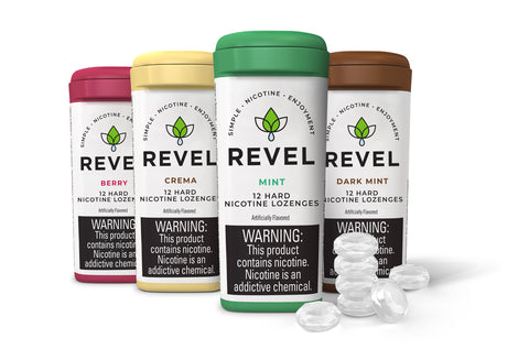 REVEL HARD NICOTINE LOZENGES [1PK]