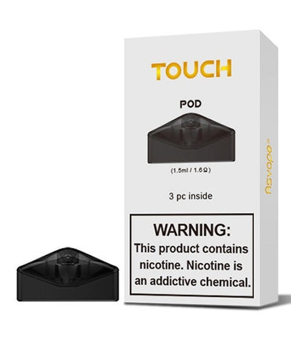 AsVape Touch Replacement Pod Cartridges [3PK]