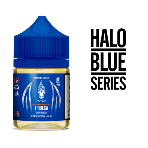 [CLEARANCE] Halo Blue Series Tobacco Blends 60ML