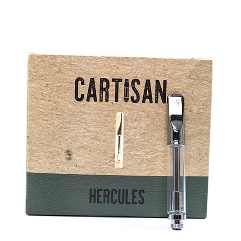 Hercules 510 Empty 1mL Glass Tank Cartridge [1PC]
