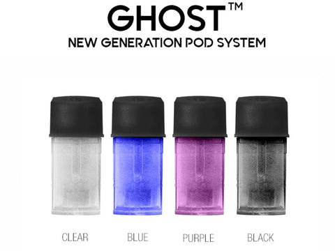 Ghost Replacement Pod Cartridges [3PK]