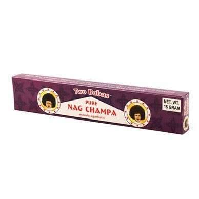 Two Babas Nag Champa Incense - 15g [1PK]