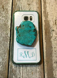 Turquoise Slab Phone Jewelry