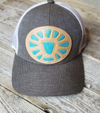 Mcintire Leather Patch Hats