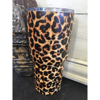 Leopard Stainless Cup