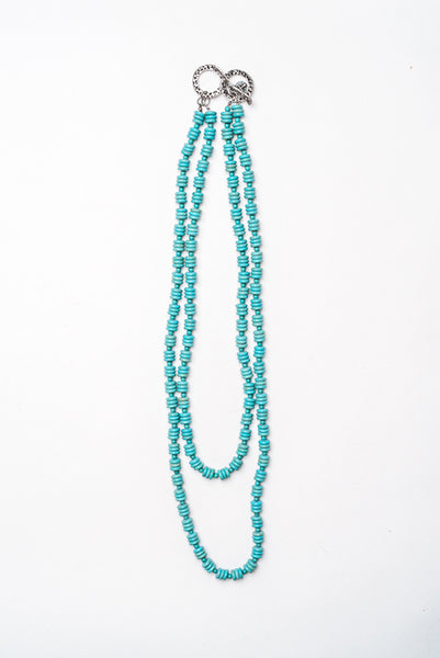 High Desert Double Strand Necklace