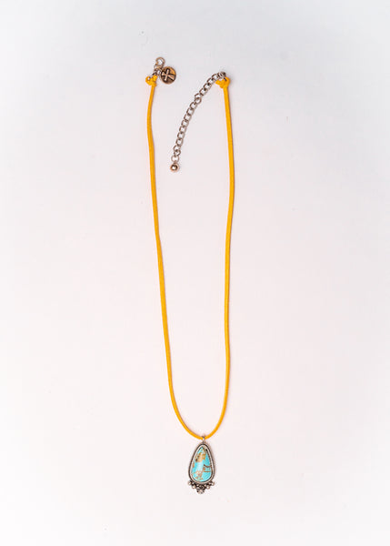 Tyler Rose Turquoise Pendant Necklace