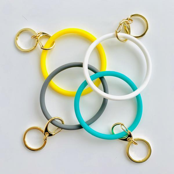 Silicon Key Rings