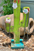 Cactus Necklace Display