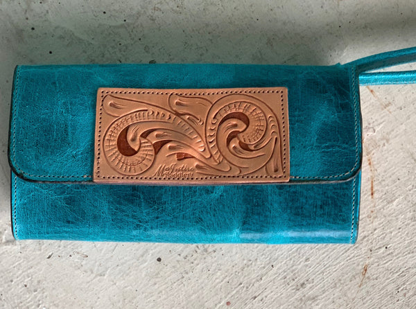McIntire Tooled Wristlet