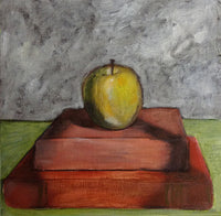 Apple and Two Books