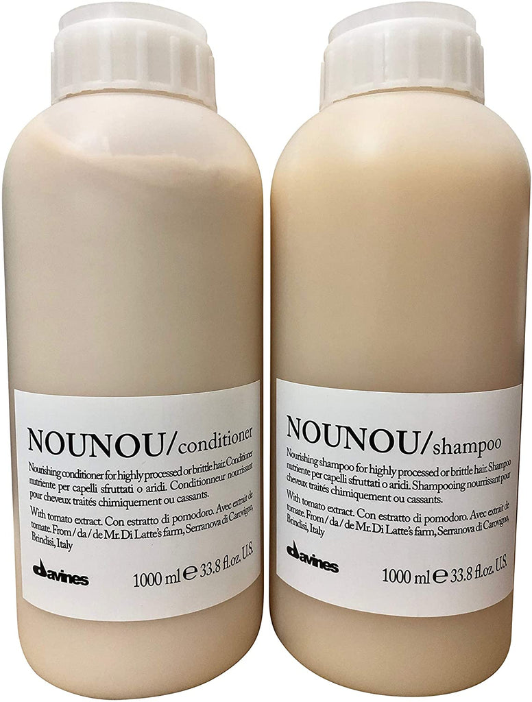 Davines Nounou Shampoo + Conditioner Litre 1000ml Duo