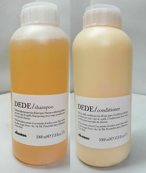 Dede Shampoo + Conditioner Litre Duo