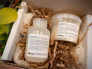 Love Curl Shampoo + Conditioner Mini Box