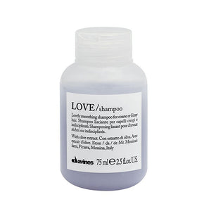 Davines Love Smooth Shampoo travel size 75ml