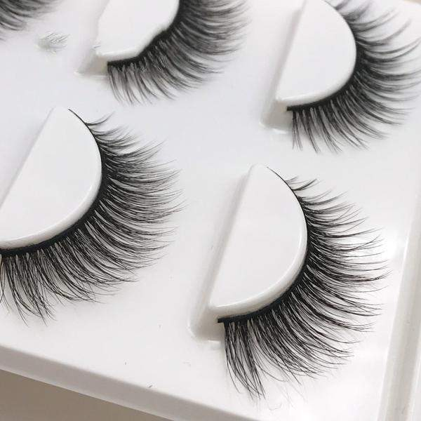3D Mink False Eyelashes ( 3 pairs )-health & beauty-Neptune Wild