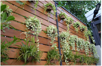 artificial garden wall