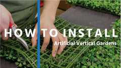 Guide on installing artificial hedges and green walls