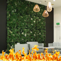 fire resistant artificial green walls