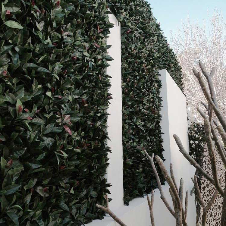 Fake Vertical Gardens and Hedge Panels