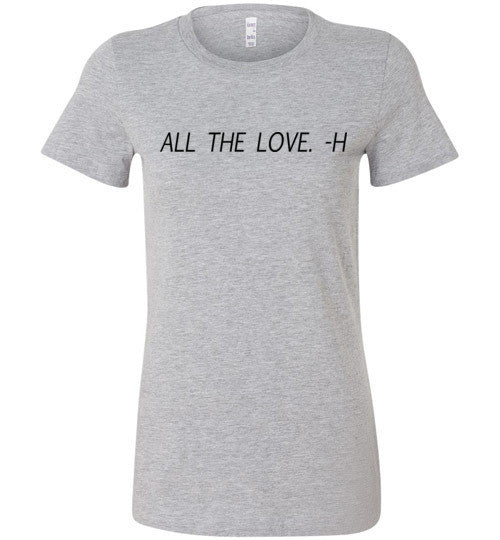 All The Love Harry Graphic Top - infinity owl