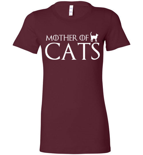 Mother Of Cats Graphic Tops