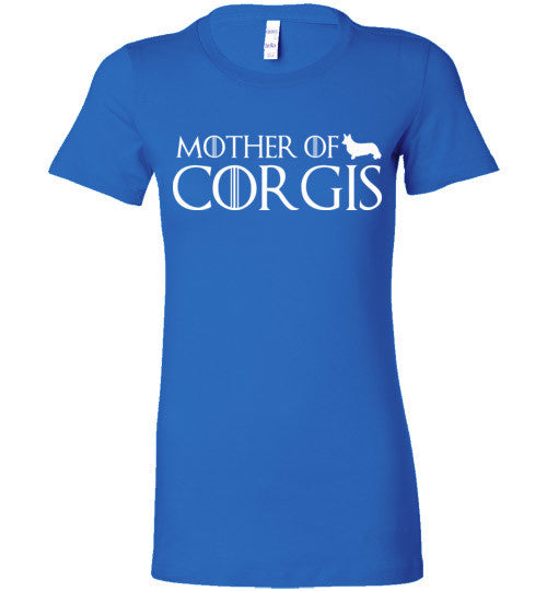 Mother Of Corgis Graphic Tees