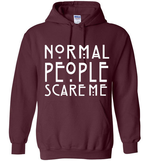 Normal People Scare Me Graphic Tops